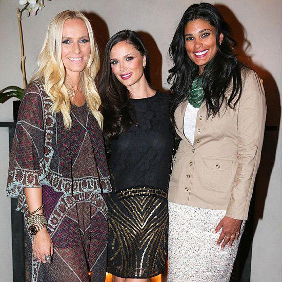 Rachel Roy helped Marchesa's Keren Craig and Georgina Chapman launch Voyage in NYC.