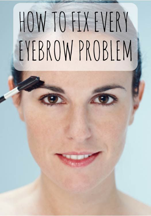 How to fix every eyebrow problem in the book!