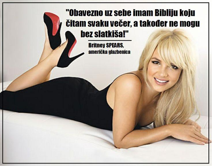 Britney o slatkišima i Bibliji