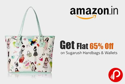 Get Flat 65% Off on Sugarush Handbags & Wallets - Amazon