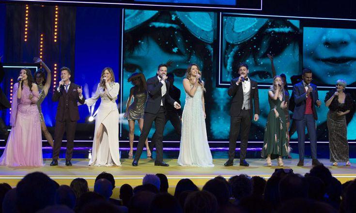 Los nueve extriunfitos de la edición de este año actuaron en los Premios Forqué del cine, que se celebraron en Zaragoza