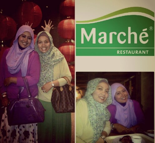 Our quality time @MarChe Hindes