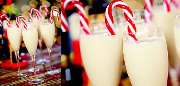 Sandra Lee Candy Cane Cocktail- Candy Cane Cocktail: Christmas Parties, Chocolates Liqueurs, White Chocolates, Canes Cocktails, Ice Cubes, Cocktails Yum, Candy Canes, Candies Canes, Cocktails Shakers