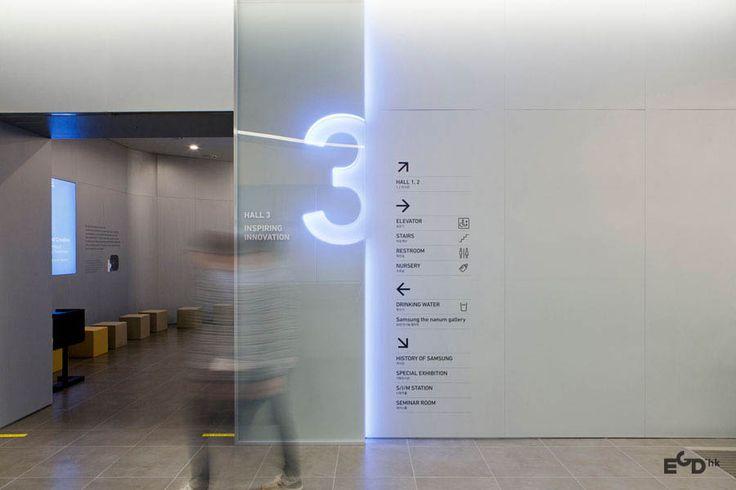 三星創新博物館展示空間與指示系統設計