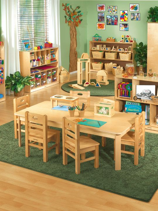 #LakeshoreDreamClassroom - Classic birch furniture