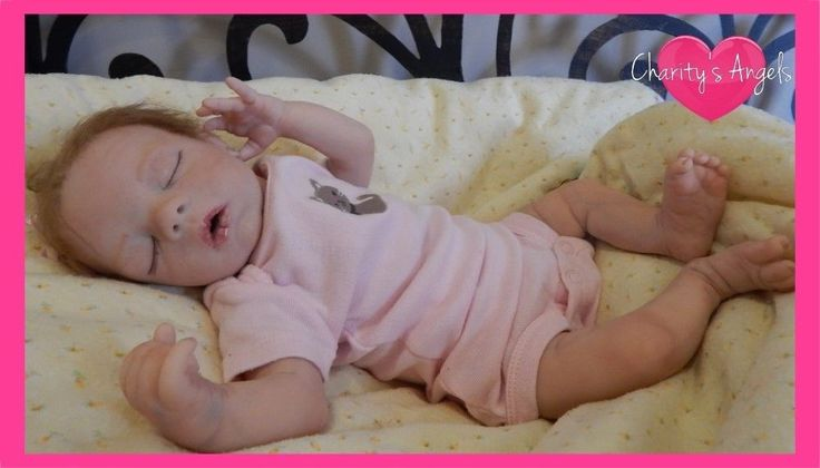 Charity's Angels Presents Megan Bountiful Baby Girl Reborn Doll OOAK Preemie | eBay
