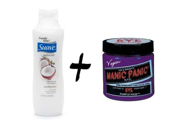 radical possibility: DIY Temporary Hydrating Hair Color Mask
