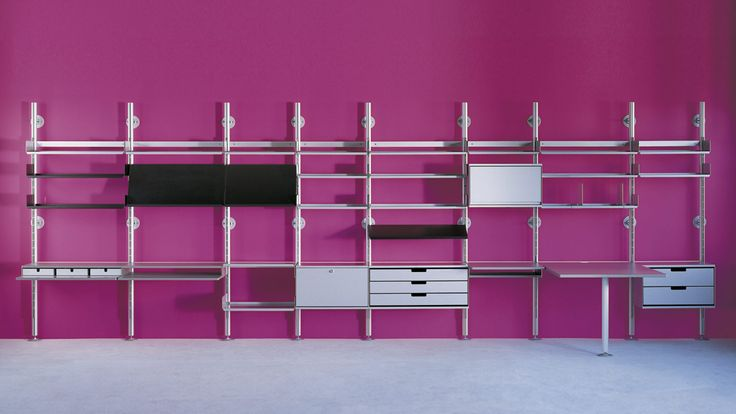 101 best Vitsœ 606 Universal Shelving System images on Pinterest ...