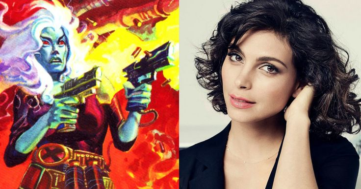 'Deadpool': Morena Baccarin Confirmed as Copycat? -- Morena Baccarin teases that she is playing Vanessa Geraldine Carlysle, aka Copycat, in the 'X-Men' spinoff 'Deadpool'. -- http://www.movieweb.com/deadpool-movie-cast-morena-baccarin-copycat
