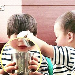 Manse asking for water from Minguk #2/2 | The Return of Superman