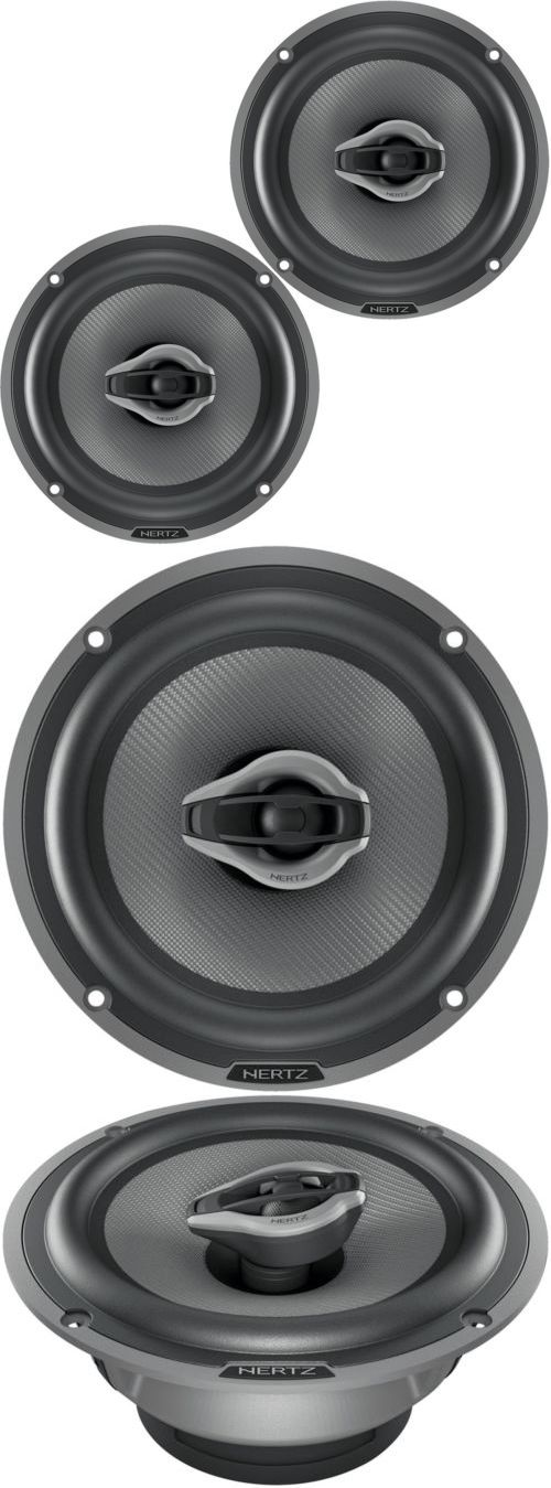 Car Speakers and Speaker Systems: Hertz Hcx 165 Car Audio Stereo 6-1 2 2-Way Hi-Energy Coaxial Speakers Pair 6.5 -> BUY IT NOW ONLY: $189.95 on eBay!