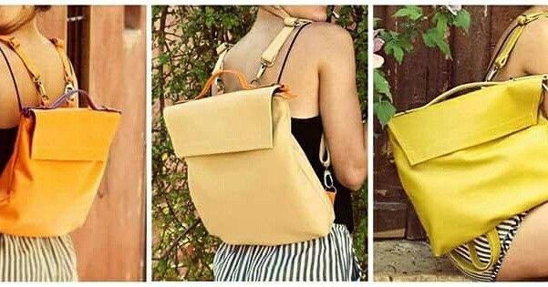 Pottier bag shoulder bag, backpack