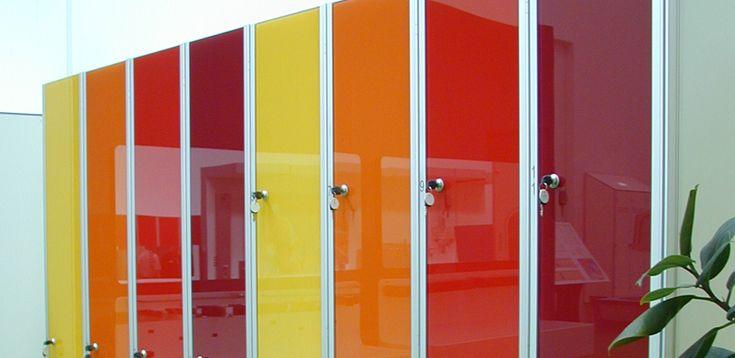 Armadio Spogliatoio Design Ante in Vetro