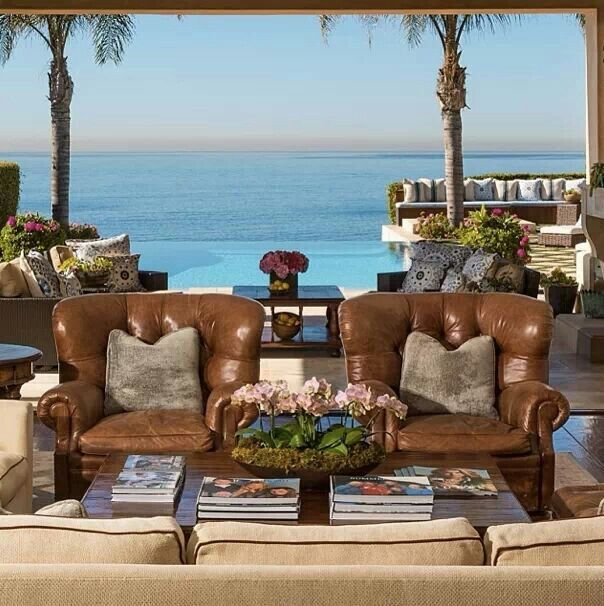 Yolanda Foster Malibu Home I Love Their Outside Living Area And The View Is To Die For