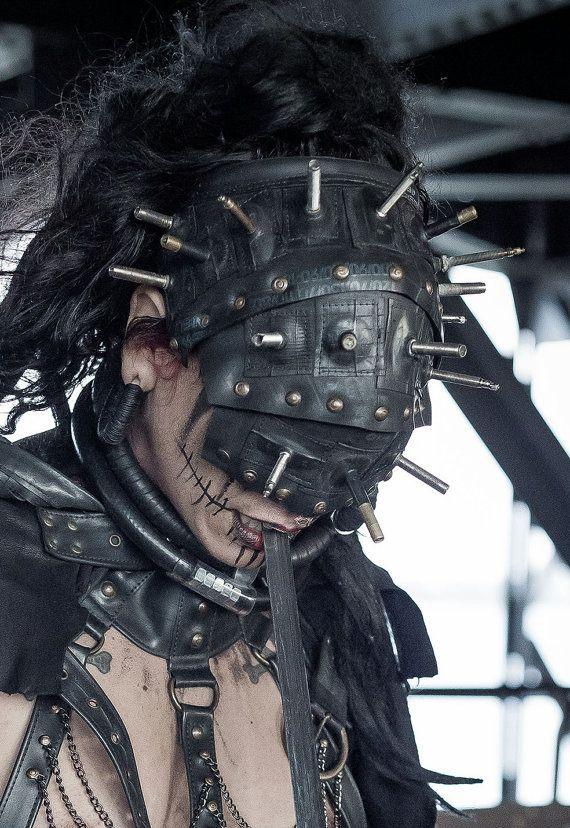 Post Apokalyptische Gummi Maske