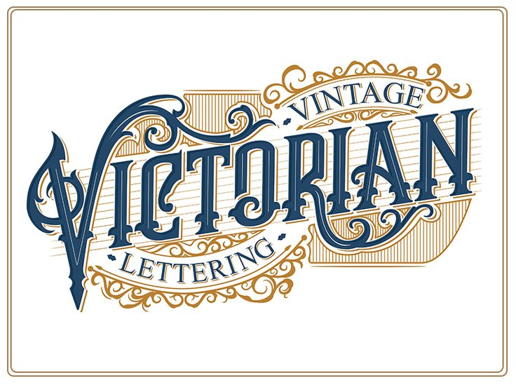 Vintage Victorian Lettering by Bangkit Tri Setiadi #Design Popular #Dribbble #shots