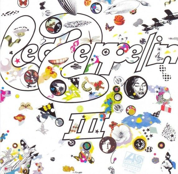 18th Nov 1970, Led Zeppelin III was at No.1 on the UK & US album charts. The original cover and interior gatefold art consisted of a surreal collection of random images.  The distinctive cover was based on a suggestion of Jimmy Page's  http://www.thisdayinmusic.com/pages/led_zeppelin_iii
