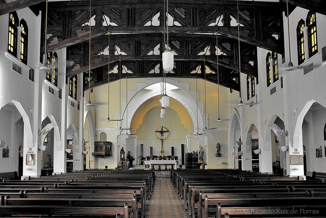 Interior Of Nuestra Senora Del Rosario Catholic Church -6736