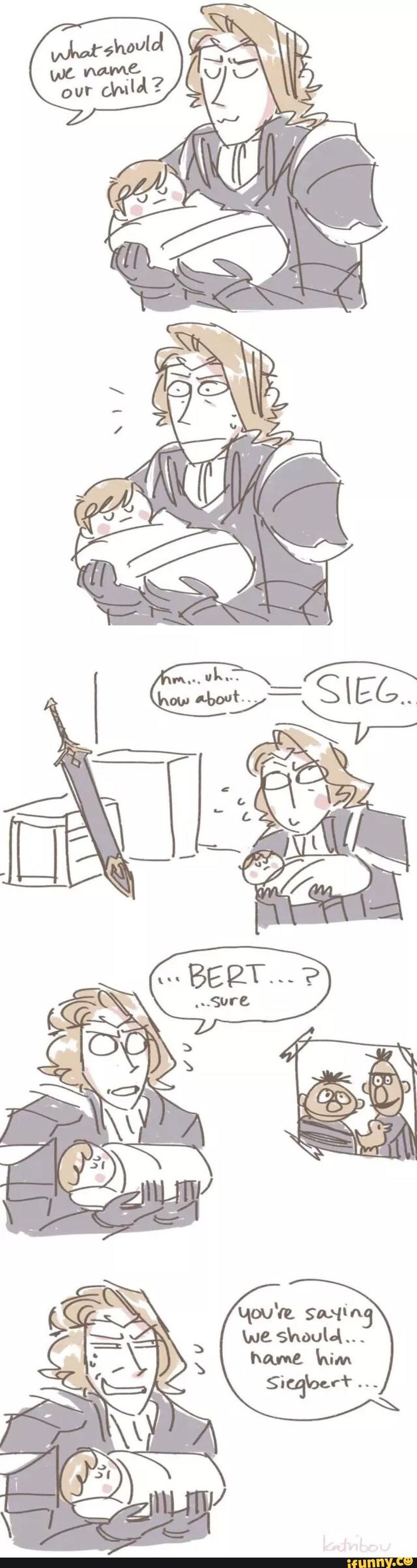 How Marx/Xander really came up with the name of his son. | Fire Emblem: If/Fates - Siegburt