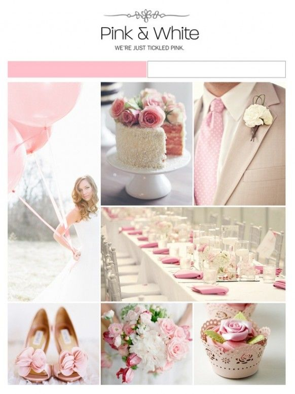 www.weddbook.com everything about wedding ♥ Pink and White Weddings #weddbook #wedding #pink #theme