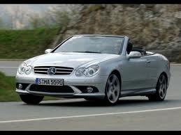 Wish I had taken my car on to Europ with me on the fast roads Mercedes CLK 550