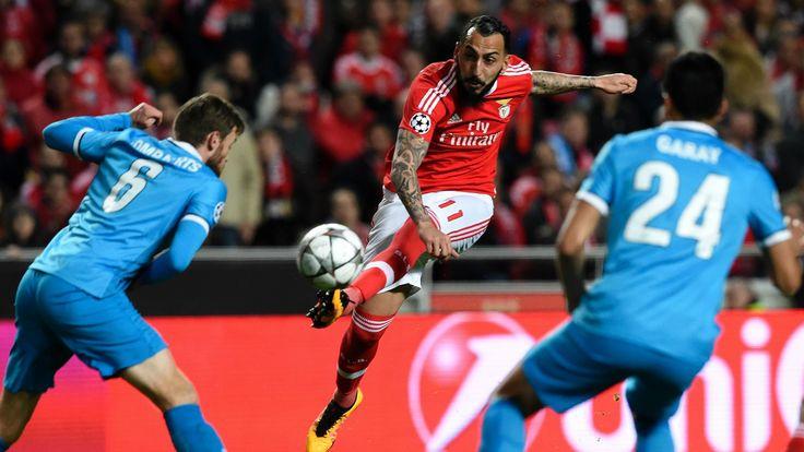 @Benfica O 'Glorioso' vai partir em vantagem para a segunda mão dos oitavos-de-final da #ChampionsLeague frente ao Zenit, na Rússia, após Jonas ter marcado, aos 91 minutos, o único golo da partida em Lisboa #9ine