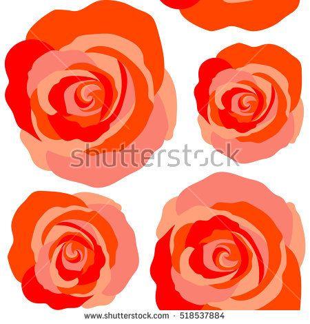 Vintage dog rose pattern. Flower background. Abstract red roses sketch. Flower card with dog rose. Hand drawn background with dogrose flowers. Flower seamless pattern. Wild rose design.