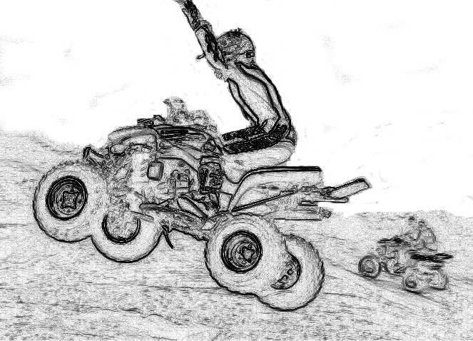 kids coloring pages 4 wheeler - photo#29