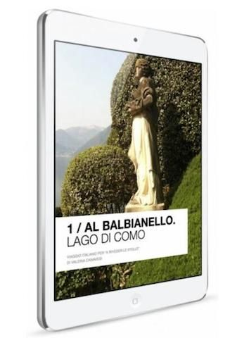To Balbianello - Lake Como: an amazing jouriney in a ebook!