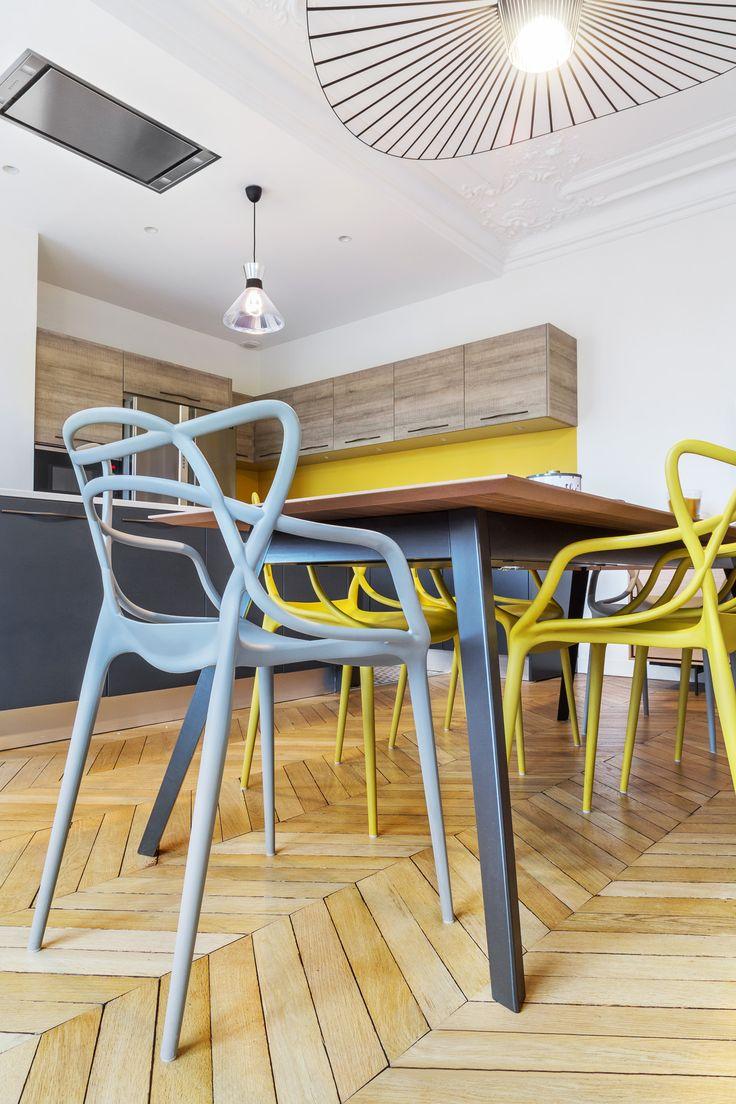 Plus de 1000 id es propos de salles a manger dining for Les chaises modernes