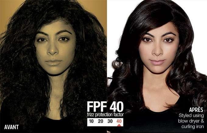 Marre des frisottis ? Testez Frizz Dismiss (Rebel Tame protection40) #Cheveux #lisses