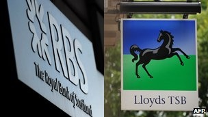 """A parliamentary committee has said the Treasury's sale of Northern Rock in 2011 was """"fortunate"""", and Lloyds and RBS may not be sold """"for many years""""."""