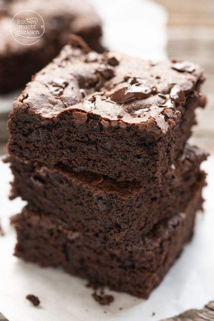 Geniales Rezept für die besten Brownies der Welt. Diese Brownies sind leicht zu ni …   – lecker
