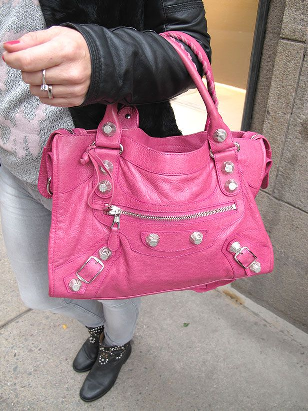 Soulcityguide | Pink Balenciaga | http://soulcityguide.com/2014/10/outfit-of-the-day-207/