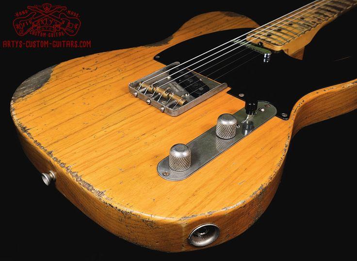 Telecaster Heavy Relic Body Artys Custom Guitars Shop Tele