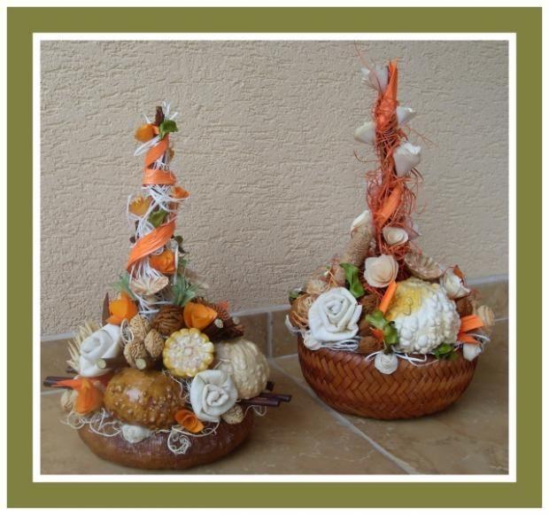 Jesenná dekorácia. Autorka: pavluša.    autumn decor, diy, handmade   Artmama.sk