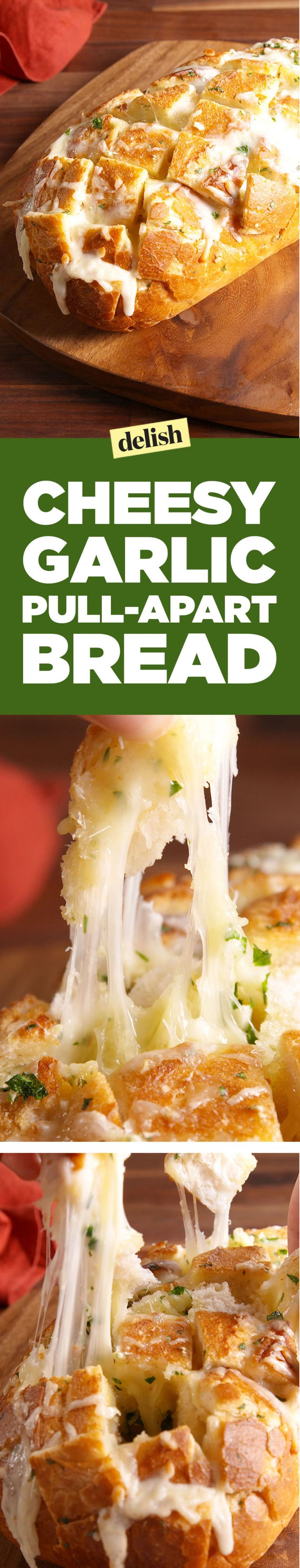 Here's How To Make A Cheesy Bread Your Friends Will Fight Over