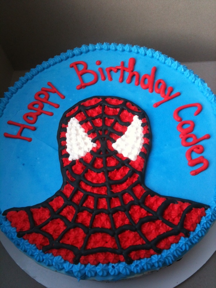 Spiderman Ice Cream Cake Cake Diva Cakes Birthday Cake