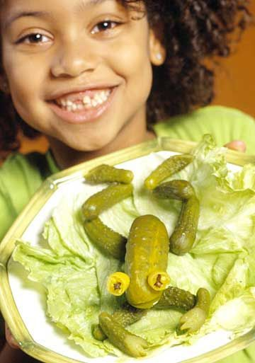 Leap Year Frog Party Food Ideas Pickled Frogs Made With One Big Dill