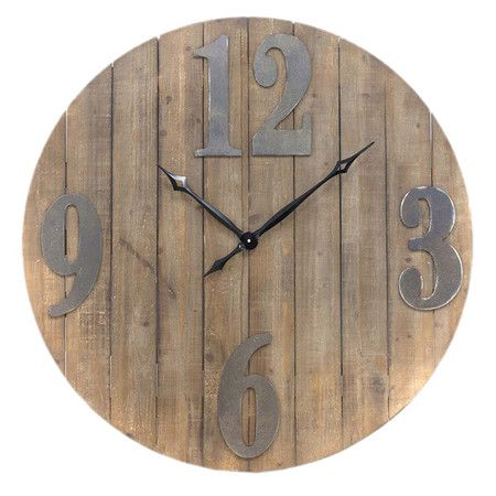 13 Best Images About Pallet Spool Clocks On Pinterest