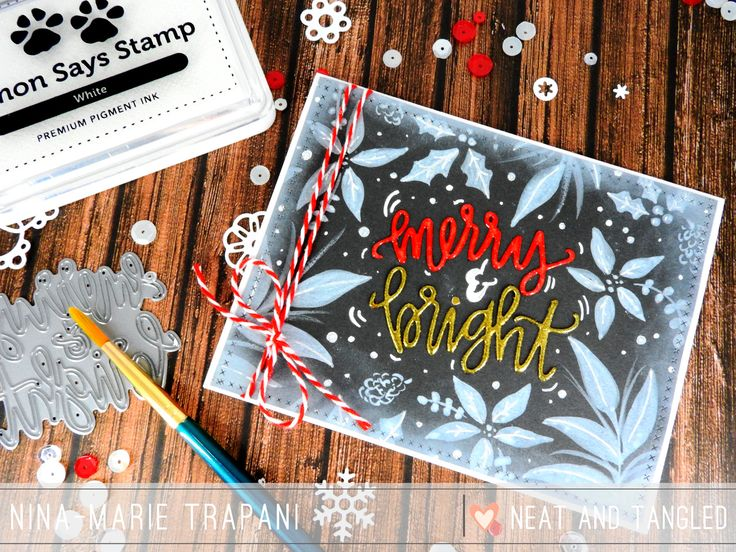 Merry and bright | Nina-Marie Trapani | NEAT & TANGLED NOVEMBER RELEASE: DAY ONE