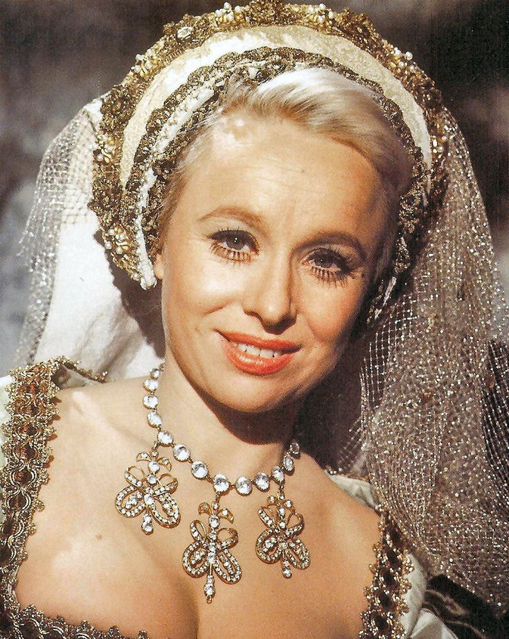 Barbara Windsor as Bettina in a promo shot for Henry