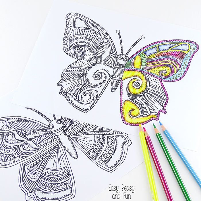 10 Super Cute Printable Coloring Pages