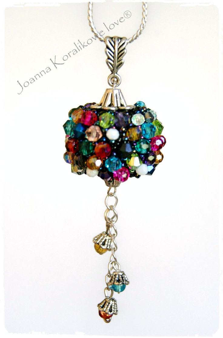 Pendant beaded beads Capricho