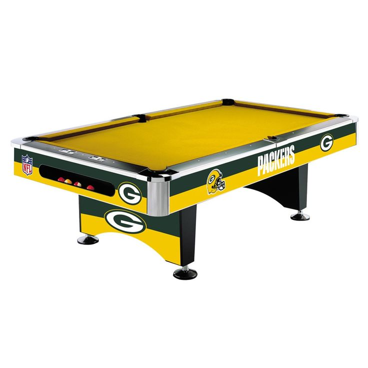 Green Bay Packers 8Ft Pool Table By Imperial