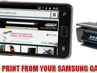 How to print from your Samsung Galaxy S2 Want to print directly from your Galaxy S2? You're just an app and our how-to guide away from mobile printing nirvana.