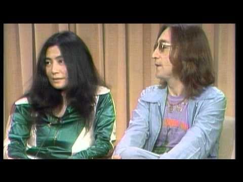 John Lennon about Allen Klein [Rare footage from April 1973] - YouTube