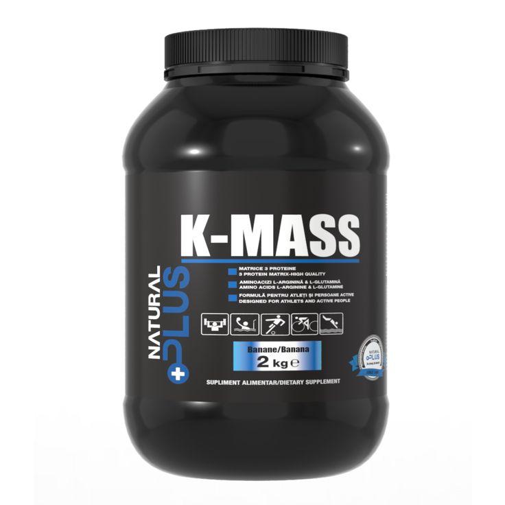 Proteine K-MASS, aromă banane