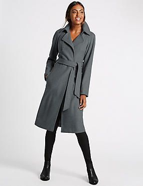 Unstructured Trench Coat