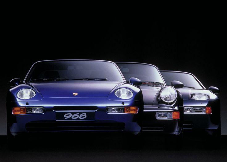 https://flic.kr/p/99JoaW | Porsche 968 / Porsche 911 Carrera (964) / Porsche 928 GT